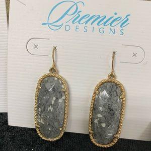 Premier Designs fish hook earrings